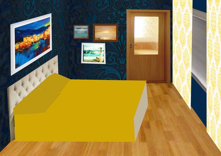 Spálňa bude - hnedá, biela, a trochu lososovej - PRVOTNY NAPAD - TOTO NEBUDE!  Koláž úpravy -  druha stena - rozmyslame ci tiez otapetujeme.....