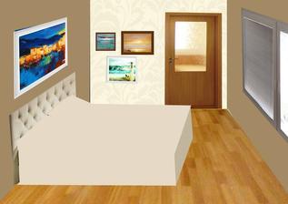 DALSI NAPAD - TOTO NEBUDE!  Koláž - ornament tapeta?  spálňa bude na inom mieste než sme pôvodne plánovali a podľa feng-shuej by tam mali byť iné farby, preto uvažujeme nad ďalšími alternatívami....