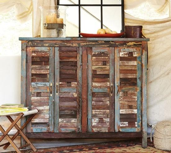 Polepené, ošúchané, nedokonále.... ale s DUŠOU - dosť bolo chladným moderným dokonalým nábytkom bez duše! - Obrázok č. 14