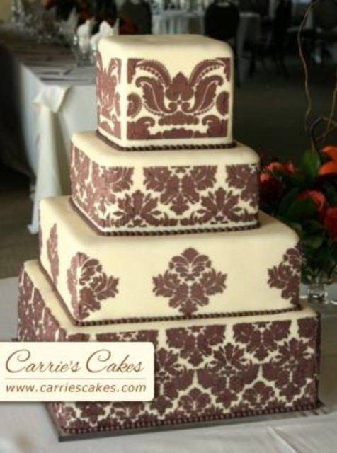 Vanilkovo-cokoladova svadba - nadhera!!! ale okruhlu!