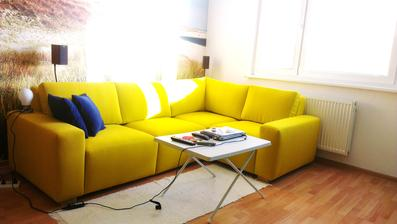 Pri rannom svetle :-) nova sedacka :-)  rozmery sedacky: 2,5x1,7m, sedacka Eden, www.nesia.sk.