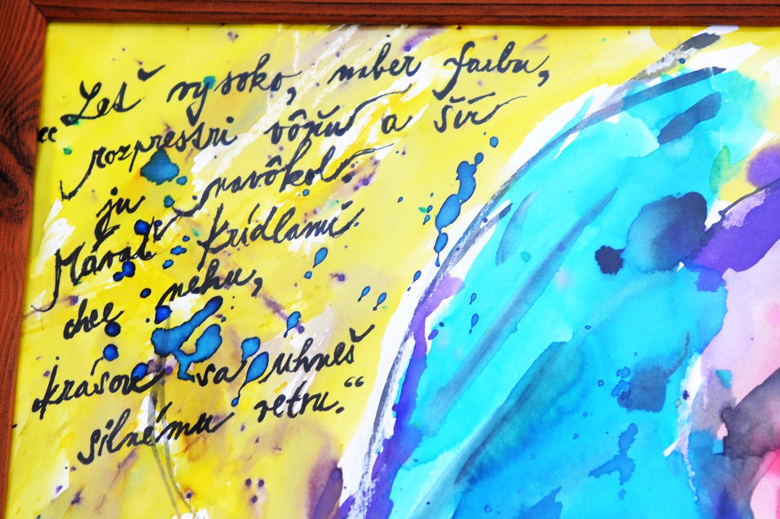 Skusam patlat.... :-P - moja báseň, nebáseň :-).... taká abstraktná...... :-).....