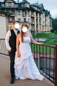 Svadobné šaty šité v salóne veľ.40-44, 42