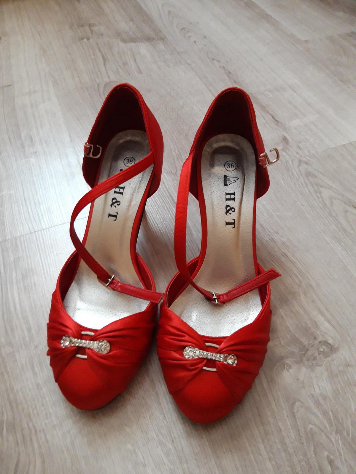 Spoločenské topánky č.36 - Obrázok č. 1