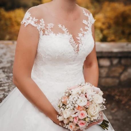 Svadobné šaty Eva Grandes - pre vysoké nevesty - Obrázok č. 4