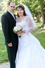 Naša prvá svadobná fotka