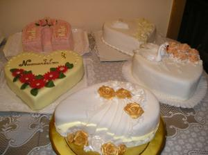 a nejaké tie tortičky
