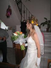Nervózní nevěsta