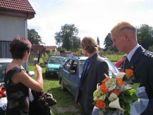 Poslední úpravy a svatební kytice