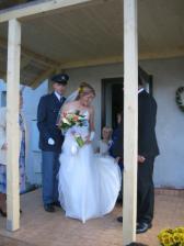 Ženich prosí otce nevěsty o svou milou
