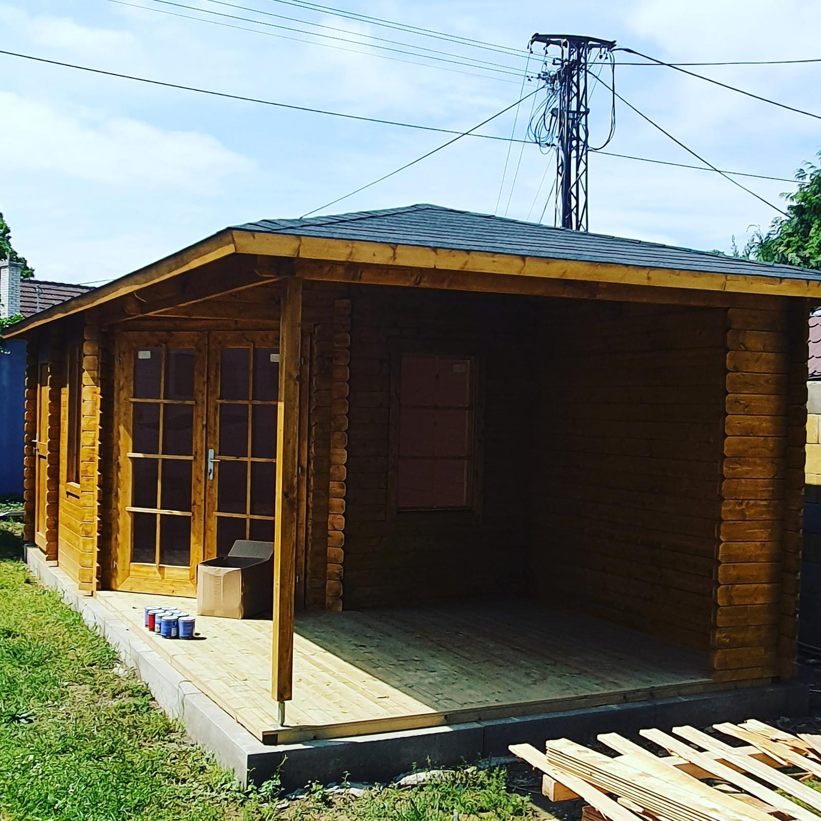 Zýáhradný domček ARUBA 3A s valbovou strechou - Obrázok č. 1