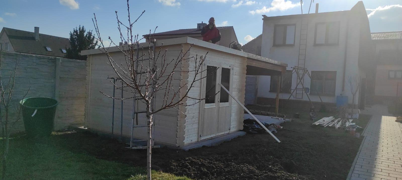Záhradný domček ST.Louis. Jednoduché a praktické riešenie. prevedenie 28mm. Nájdete na stránke: https://www.drevo-domy.eu/ - Obrázok č. 2