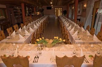 miesto hostiny, dúfam že budeme spokojní