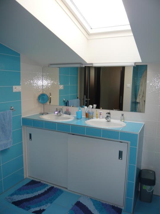 Náš domček2 - konečne kúpelňa na komplet.