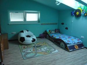 """Jakubko už má """"velkáckú"""" posteľ :-)"""