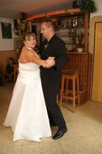 tanec s bratrancem a fotografem v jednom :-)