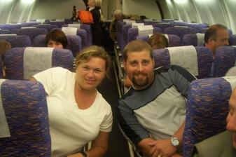 návrat v letadle :-)