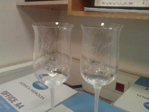 naše poháre už doma