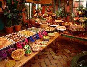 aj mexicky bufet