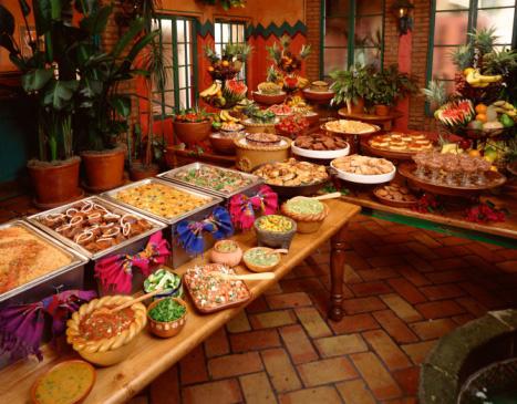 Prípravy - aj mexicky bufet
