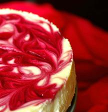 Raspberry Chocolate Cheesecake ako svadobna torta :-)