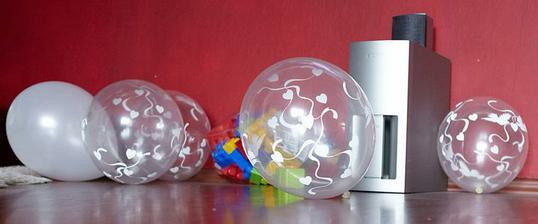 Balóny na výzdobu už sú...