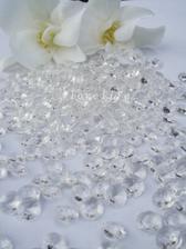 Vydraženo - Čiré diamantíky 1/3 CT
