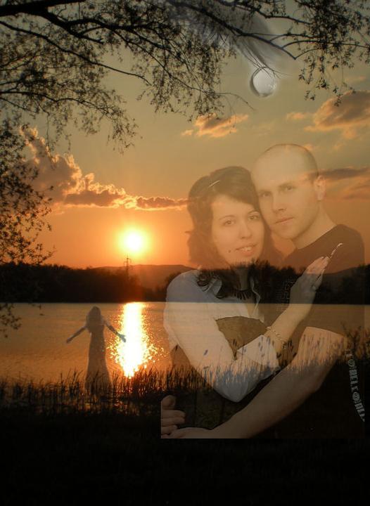 Moje, jeho a naše :) - a tu, na tomto mieste, mi Peťko vyznal 1x lásku .. :)