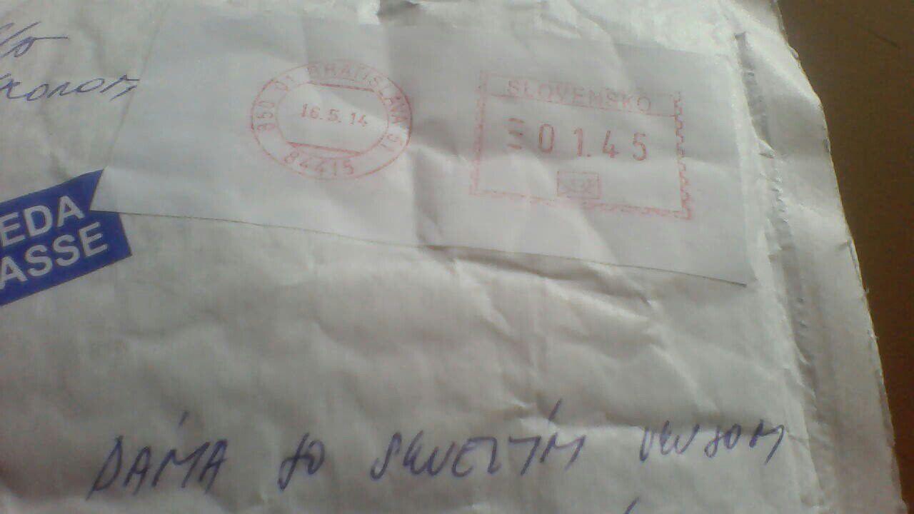 Moje, jeho a naše :) - musím sa s vami podeliť o to, akú krásnu poštu som dnes dostala  .. :)