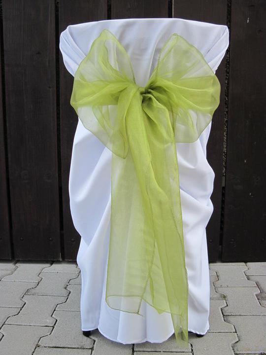 Naša krásna svadbička - takéto jednoduché mašle ale oveľa menšie bez ozdôb