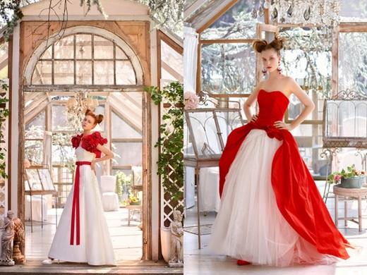 Krááásne červeno-biele šaty - Obrázok č. 86
