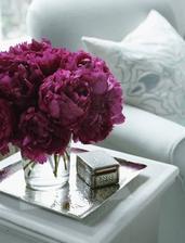 Tyto pivonky budou ve svatební kytici ;)