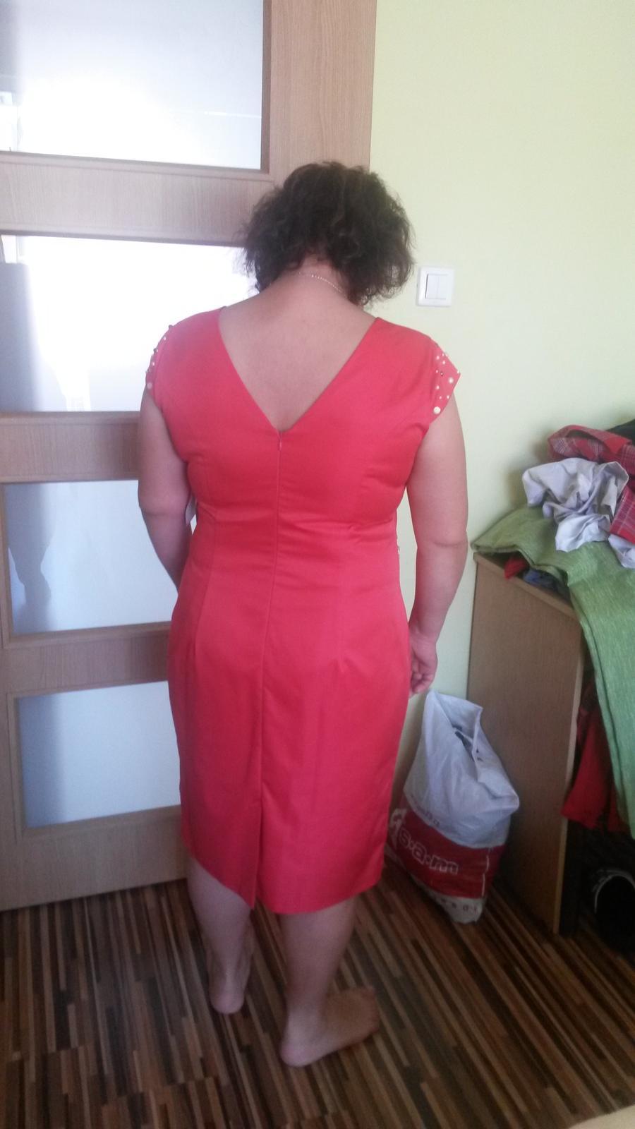 Spoločenské šaty pre svadobnu mamu - Obrázok č. 3