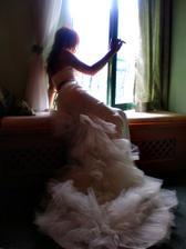 Tahle fotka vypada jako od Rofa, poridil ji muj manzel obycejnym digitalem v pokoji ve vezi a mam ji moc rada*