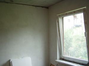 steny ohodené, už len podhľad a vybieliť