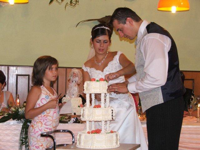 Denisa{{_AND_}}Tibor - svadobná torta