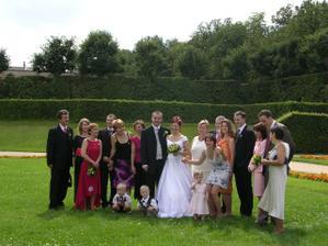 a tady s uplně celou rodinou... téměř celou rodinou..