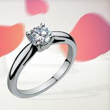 To je můj zásnubní prstýnek...
