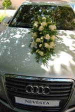 Moje svatební auto...