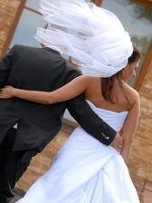 Loučíme se s Vámi...novomaželé Hudec