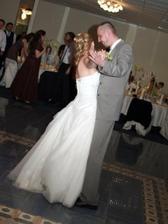 prvý tanec novomanželov...