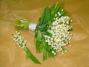 a jarní svatební kytí
