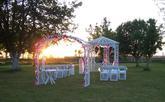 Svatební altán  - svatba na soukromé zahradě