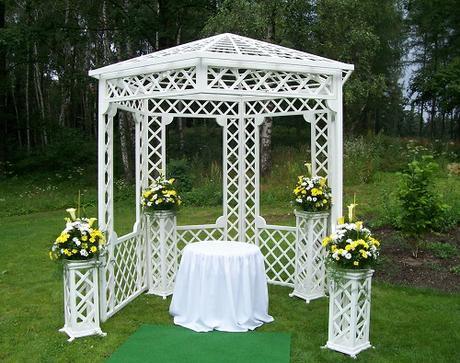 Půjčení svatebního altánu - set - Obrázek č. 2