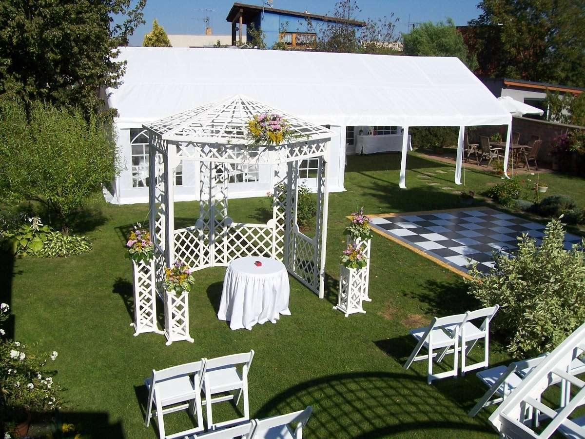 Půjčení svatebního altánu - set - Obrázek č. 4