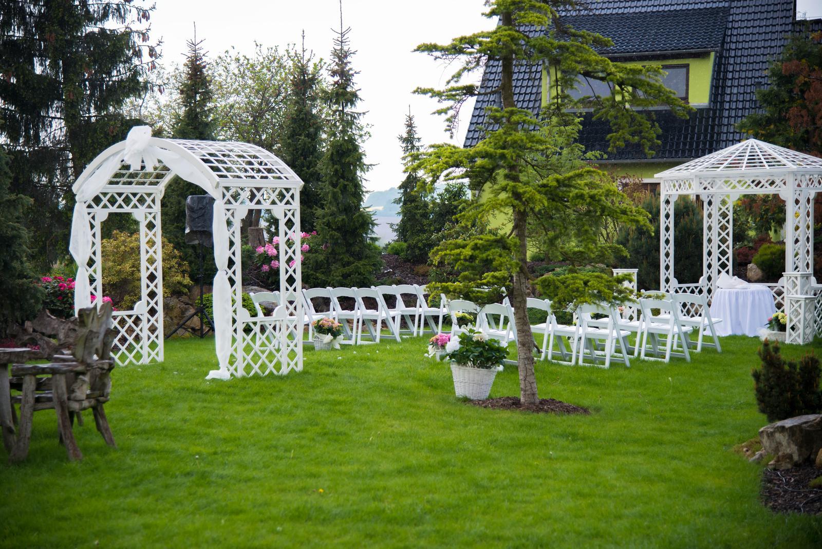 Půjčení svatebního altánu - set - Obrázek č. 1