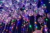 Svítící balónky,