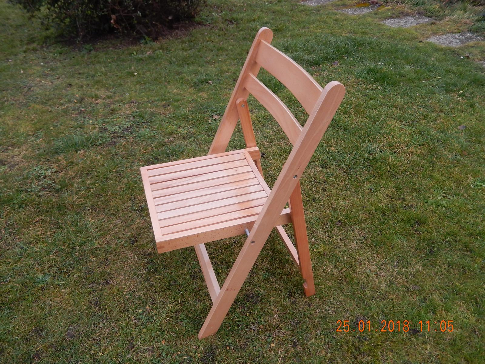 Půjčení dřevěných židlí. - Obrázek č. 1