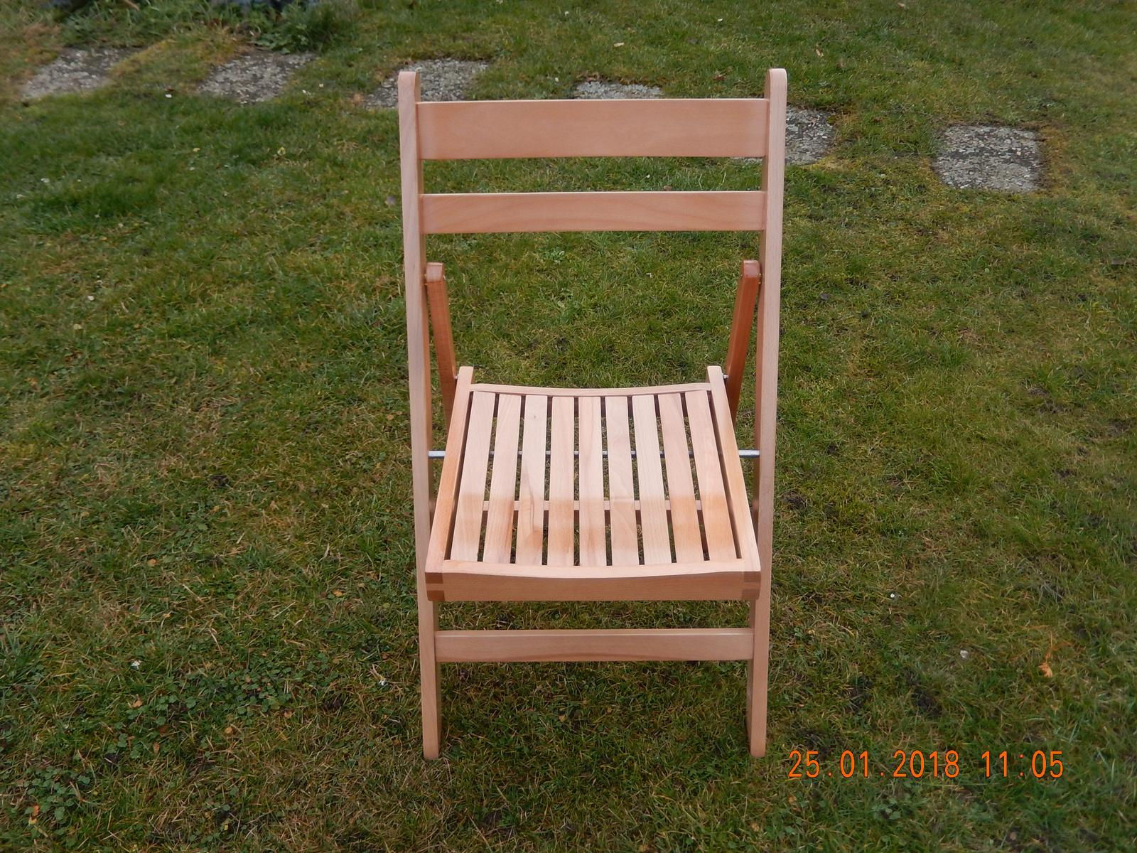 Půjčení dřevěných židlí. - Obrázek č. 2