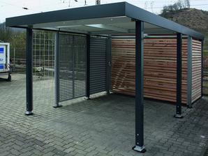 Ocelové garážové přístřešky SIEBAU,  http://www.belis.cz/garazove-pristresky-pergoly